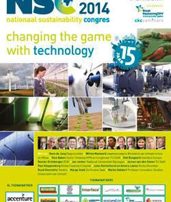 Brochure 15de Nationaal Sustainability Congres 2014 beschikbaar!